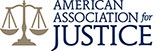 American Association for Justice badge